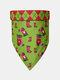 6 Pcs Christmas Pet triangle Scarf Pet Saliva Towel Double-Sided Dog Bandana Scarf Pet Supplies - #02