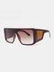 نظارات شمسية رجالية بإطار كامل من قطعة واحدة مقاومة للرياح UV حماية - #04