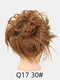 41 Colors Chicken Tail Hair Ring Messy Fluffy Rubber Band Curly Hair Bag Wig - 23