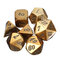 Antique Color Heavy Dice Set Polyhedral Dices Role Playing Games Dice Gadget RPG - #4