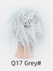 41 Colors Chicken Tail Hair Ring Messy Fluffy Rubber Band Curly Hair Bag Wig - 31
