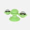 Rotating Turntable Cat Toy Pet Suction Cup Pet Ceaning Toy Comb Brushing Tooth Brush Toy - Green