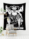 Tarot Card Pattern Blanket Tapestry Wall Hanging Tapestries Bedroom Bedspread Throw Cover Sun Moon Wall Decor - #09