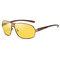 Gafas de sol unisex Vogue vendimia de metal con montura completa y anti-ultravioleta al aire libre Gafas de sol Driving Travel Playa