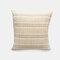 Pillow Linen Plain Striped Square Lattice Modern Minimalist Pillow Living Room Cushion Cover - #02
