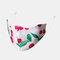 Multicolor Cotton Floral Mask Vintage Print Face Mask - #04
