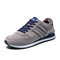 Men Sport Comfy Warm Lined Non Slip Soft Casual Sneakers - Gray