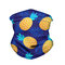 Printed Mask Breathable Turban Windshield Dust-proof Face Mask   - 01
