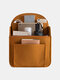 Casual Felt Cloth Multi-compartment Lightweight Backpack Liner Bag Bag In Bag - Yellow
