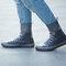 Women Outdoor Reusable Waterproof Slip Resistant Shoes Cover Protect - Grey1