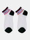 جوارب نسائية من القطن والحرير والزجاج بلون مغاير اللون - أسود