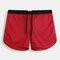 Short de bain en résille pour hommes Arrow Pantalon de couleur unie respirant pour la maison, sport, short décontracté avec doublure