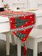 Chemin de table de bonhomme de neige de wapiti de Noël Joyeux décor de Noël pour des ornements à la maison - #03
