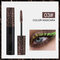 3D Colorful Mascara Long Curling Thick Waterproof Lasting Not Faded Eye Makeup - Coffee