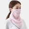 Outdoor Riding Face Mask Summer Printing Neck Sunscreen Scarf Mask Breathable Quick-drying  - 01