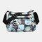 Women Nylon Print Waterproof Anti theft Casual Crossbody Bag Shoulder Bag - #02