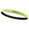 Sports Headband Anti-Slip Elastic Rubber Sweatband Football Yoga Tennis Badminton Running Hairband - Yellow