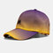 Hat Female Color Gradient M Letter Three-Dimensional Embroidery Baseball Cap Shade Cap - Purple