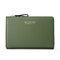 PU Leather 19 Card Slot Holder Hasp Long Purse Clutches Bags - Green