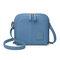 Mujer Solid 17 Cards Holder Casual Compras Bolsa Crossbody Bolsa