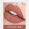 2 In 1 matten Lippenstift Lipgloss Double-Headed Design Wasserdicht Soft Smooth Cosmetic Lip Makeup - #08