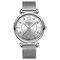 Elegant Design Mesh Steel Women Wristwatch Crystal Ladies Quartz Watch - 01
