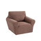 1/2/3 seaters Elastic Universal Sofa Cover Knitted Thicken Stretch Slipcovers for Living Room Couch Cover Armchair Cover - Camel