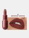8 Farben Matte Lipstick Lang anhaltendes feuchtigkeitsspendendes, nicht verblassendes Lippen-Make-up - #01