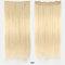 26 цветов длинные прямые Волосы удлинители 5 зажимов ложные Волосы шт. Высокотемпературное волокно Парик - 23