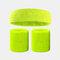 15 colori Soft Set di fascia per lo sport con fascia da polso per asciugamano Set di fascia per la fascia assorbente da sudore per sport sportivo - 3