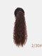 11 цветов кукуруза Пермский хвост Волосы Расширения пушистые длинные вьющиеся Парик шт. - #02