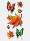 40 piezas 3D estéreo Impermeable tatuajes pegatinas escorpión flor transferencia de agua tatuaje pegatinas - 08