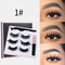 3D False Eyelashes Set Magnetic Eyeliner Liquid Natural Magnet Eyelashes Eye Makeup Eye Cosmetics - 01