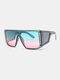 نظارات شمسية رجالية بإطار كامل من قطعة واحدة مقاومة للرياح UV حماية - #06