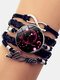 Vintage Twelve Constellation Women Bracelet LOVE Letter Multilayer Bracelet - Scorpio
