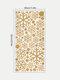 1 шт. Рождественский стикер стены Рождественский колокольчик снежинка стикер украшения стены - Золото