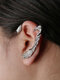 Three-dimensional Metal Bat-Shaped Ear Hook Vintage Animal-Shape Earrings - #04