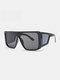 نظارات شمسية رجالية بإطار كامل من قطعة واحدة مقاومة للرياح UV حماية - #01