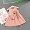 Animal Pattern Toddler Girls Sleeveless Casual Party Princess Dresses For 1Y-5Y