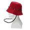 Anti-spitting Protective Mask Hat Anti-fog Anti-Splash Fisherman Full Face Cap   - Wine Red