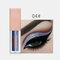 15 Colors Glitter Liquid Eyeshadow Portable Waterproof Lasting Pigmented Professional Eye Cosmetics - #04