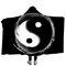 Yin and Yang Bejirog Hooded Blankets Cloak Warm Wearable Plush Thick Nap Soft Mat - #1