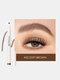 4 Fork Liquid Eyebrow Pencil Waterproof Natural Long-lasting Sketch Tattoo Eyebrow Pen - #02
