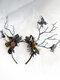 Halloween Luminous Branch Hair Accessories Butterfly Flower Christmas Headband - #01