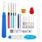A Set Of Magic Embroidery Pen Punch Needle Kit Craft Cross Stitch Threads Embroidery Hoop DIY Sewing Accessory Tools Kit For Beginners - #1