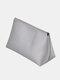 Large Capacity Makeup Bag Portable Travel Dustproof Waterproof Storage Bag - Silver
