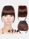 Air Bangs Wig Piece Chemical Fiber No-Trace Seamless Bangs Hair Extensions - #04
