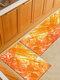 Pintura de acuarela Patrón Soft Puerta antideslizante Manta Alfombra Alfombra Alfombra de piso de cocina Interior al aire libre Decoración - #01