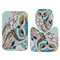 Animals Style Bathroom Curtain Printed Shower Curtains Bath Products Bathroom Decor with Hooks Waterproof Polyester Cloth - 3Pcs Floor Mats