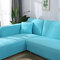 Premium Quality Stretchable Elastic Sofa Covers Premium All-Season Sofa Slip Covers Pet-Friendly and Stain-Resistant - Sky Blue